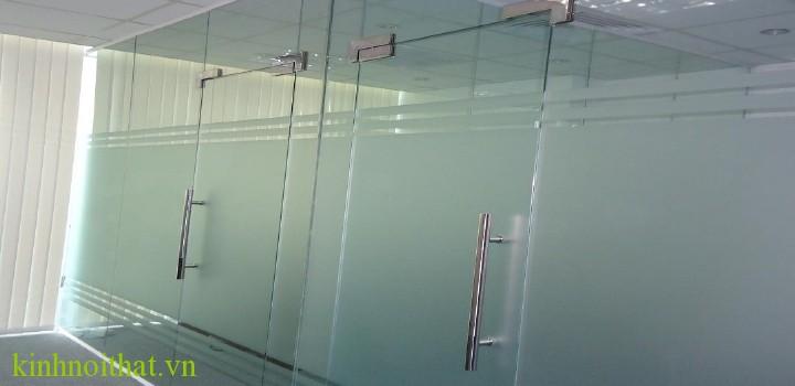 Cửa kính cường lực mở 1 cánh Cửa kính thủy lực PA1