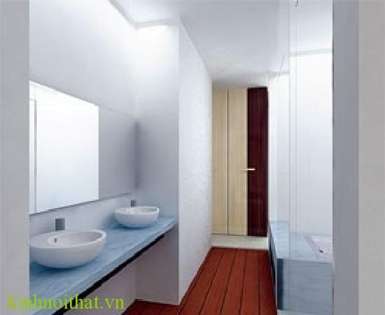 Phòng tắm kính trong phòng ngủ Phòng tắm kính trong phòng ngủ