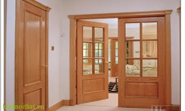 Mẫu cửa gỗ truyền thống Tại sao lại nói cửa nhôm và cửa gỗ lại có sự khác biệt ?