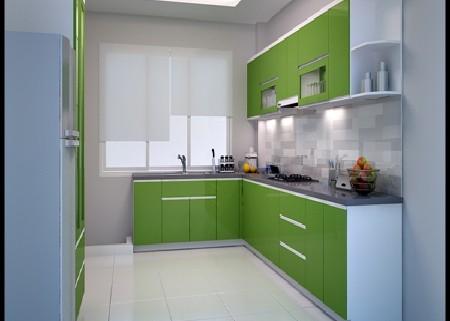 Khách hàng sẽ chọn kính ốp bếp hay gạch ốp bếp ?
