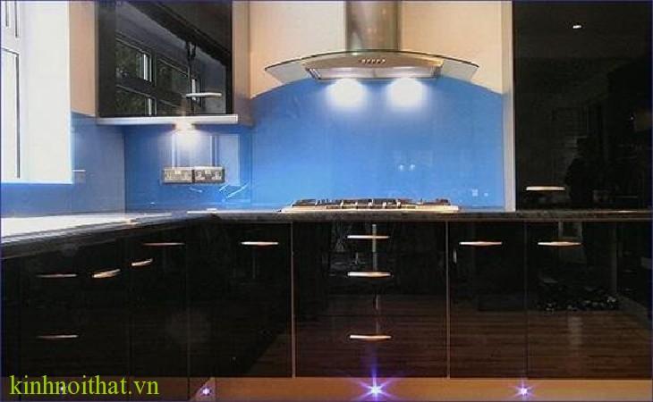 Kính ốp bếp pa1 Kính màu ốp bếp PA1