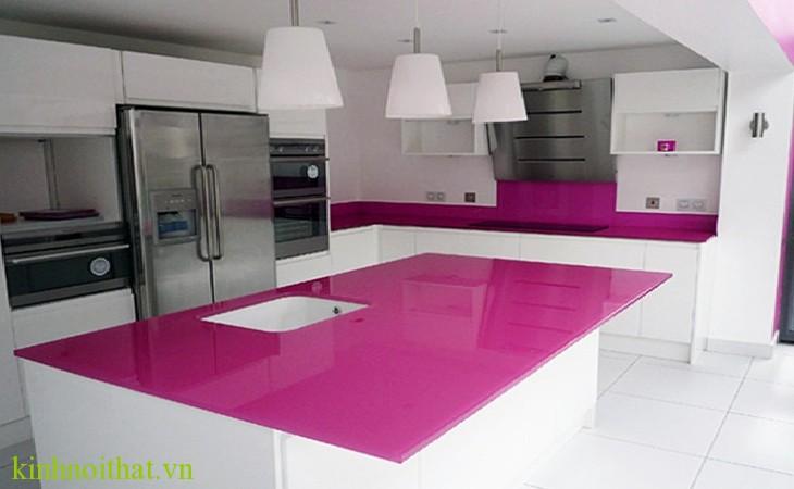 Kính màu ốp bếp PA1 Kính màu ốp bếp PA1