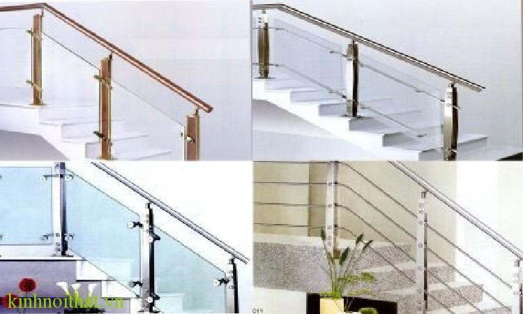 Lan can kinh 7 Bước lắp đặt lan can cầu thang kính đúng kỹ thuật