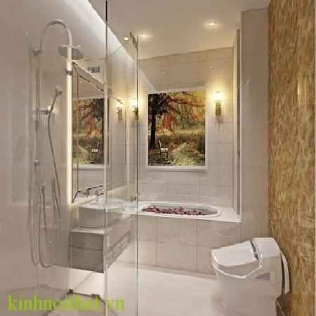 Vách tắm kính 01 Vách tắm kính giải pháp tối ưu cho việc mở rộng không gian phòng tắm
