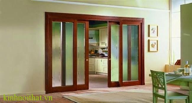 Cửa nhôm kính vân gỗ mở lùa Ưu điểm nổi trội của cửa nhôm kính vân gỗ