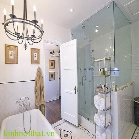 Vách phòng tắm kính Tin dùng kính cường lực 10mm cho phòng tắm kính có phải là sự lựa chọn tốt nhất không ?