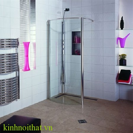 vách tắm kính giải pháp cho không gian hẹp Vách tắm kính giải pháp hữu ích cho không gian phòng tắm hẹp