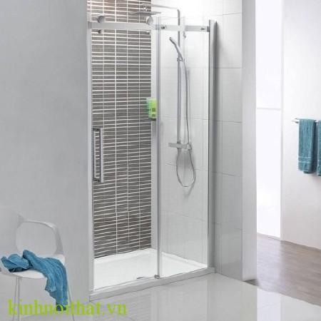 Vách tắm kính 03 Vách tắm kính giải pháp tối ưu cho việc mở rộng không gian phòng tắm