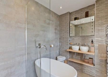 Vách tắm kính 05 Vách tắm kính giải pháp tối ưu cho việc mở rộng không gian phòng tắm