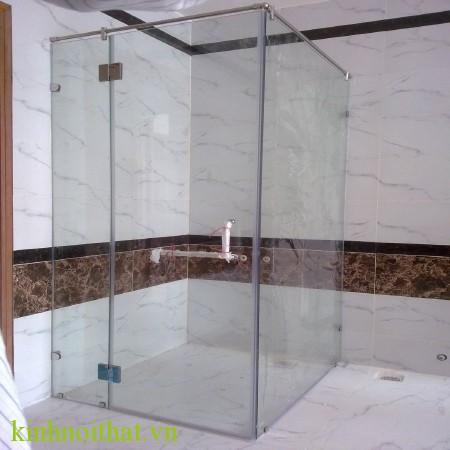Cửa kính cường lực phóng tắm 2 Cửa kính cường lực phòng tắm