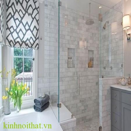 Cửa kính cường lực phòng tắm 3 Cửa kính cường lực phòng tắm