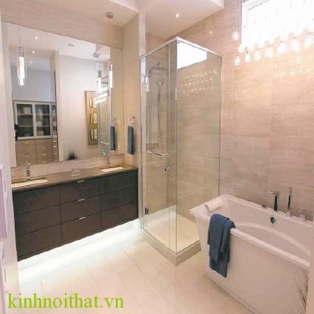 Cửa kính cường lực phòng tắm 4 Cửa kính cường lực phòng tắm
