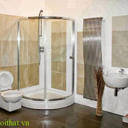 Vách tắm kính cong 4
