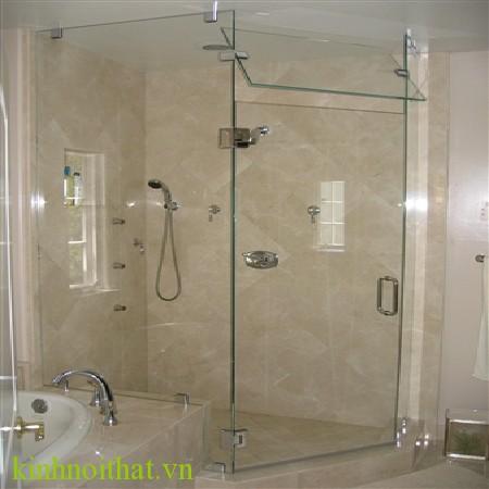 Vách tắm kính góc 90 độ 1 Vách tắm kính góc 90 độ