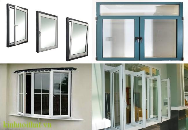 Mẫu cửa sổ nhôm việt pháp mở quay Cần lắm một hệ cửa sổ nhôm việt pháp mở quay tiện ích