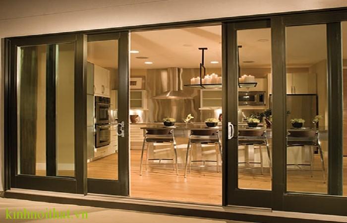Cửa lùa nhôm kính phòng bếp Tư vấn lựa chọn cửa nhôm kính cho phòng bếp