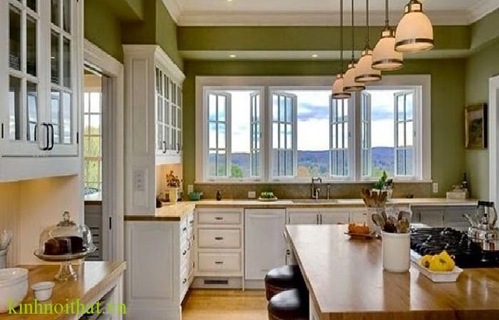 Cửa sổ nhôm kính phòng bếp 1 Tư vấn lựa chọn cửa nhôm kính cho phòng bếp
