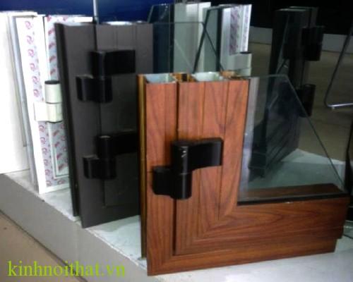 Mẫu cửa nhôm việt pháp  Cơn sốt làm cửa nhôm việt pháp vân gỗ trên thị trường