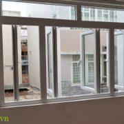 Cửa sổ nhôm kính 4 cánh Cửa sổ nhôm kính 4 cánh cấu tạo cao cấp, bền, đẹp