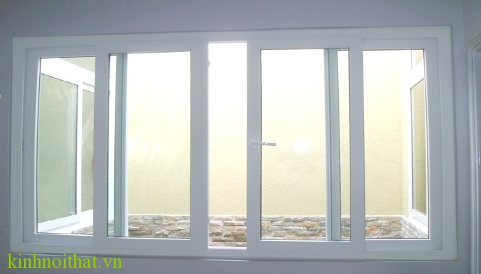 Cửa sổ nhôm kính 4 cánh mở lùa Cửa sổ nhôm kính 4 cánh cấu tạo cao cấp, bền, đẹp