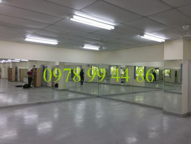 gương phòng tập 76 Báo giá gương phòng tập gym,yoga,múa