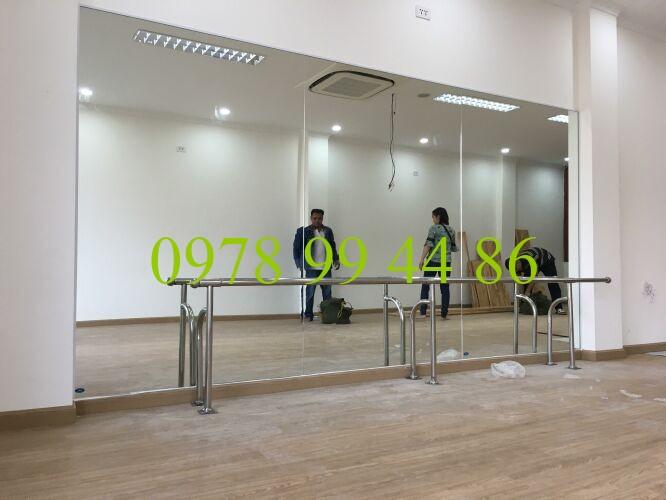 gương phòng tập 123456 Báo giá gương phòng tập gym,yoga,múa