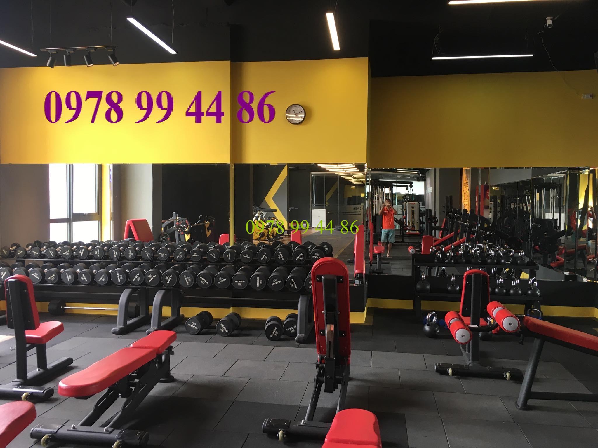 gương phòng tập gym tại vũ phạm hàm hà nội Báo giá gương phòng tập gym,yoga,múa