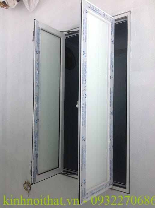 Cửa sổ nhôm việt pháp hệ 4400 mở quay cao cấp