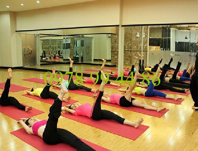 Gương phòng tập 2 Gương phòng tập yoga cao cấp tại hà nội