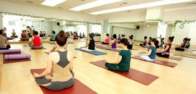 guong phong tap yoga 5 Gương phòng tập yoga tại hà nội