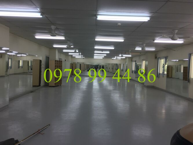 Lắp đặt gương phòng tập chuyên nghiệp tại hà nội