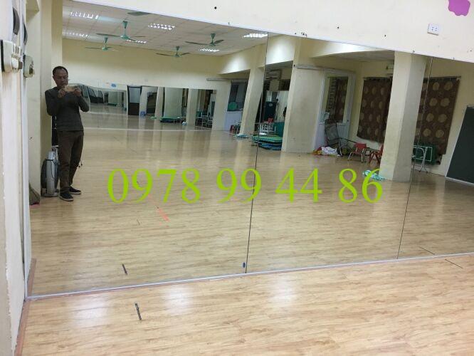 gương phòng tập tại trường mầm non 19-5 thạch thất hà nội Báo giá gương phòng tập gym,yoga,múa