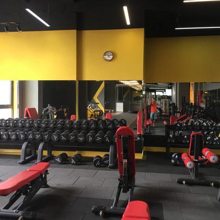 gương phòng tập chính hãng Gương phòng tập gym