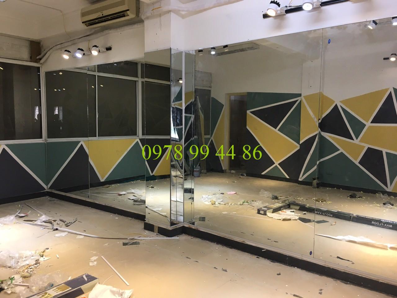 Gương phòng tập yoga 8760 Gương phòng tập yoga