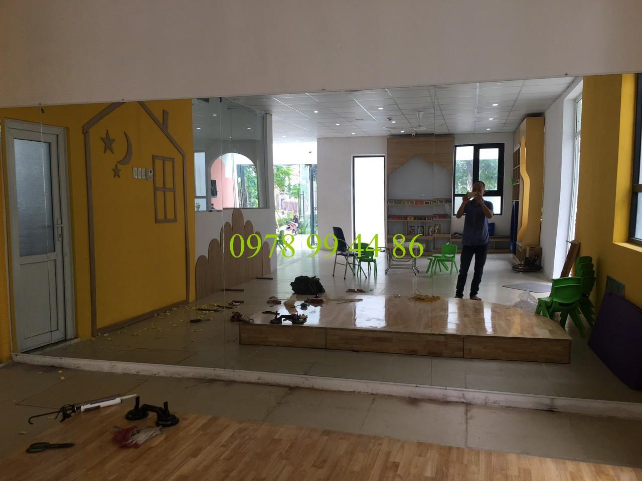 Gương phòng tập yoga 9870 Gương phòng tập yoga