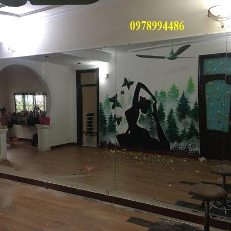 Gương phòng tập yoga 123 Gương phòng tập yoga Trang Chủ
