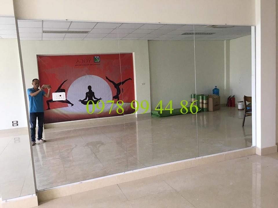 Gương phòng tập yoga 1234 Gương phòng tập yoga