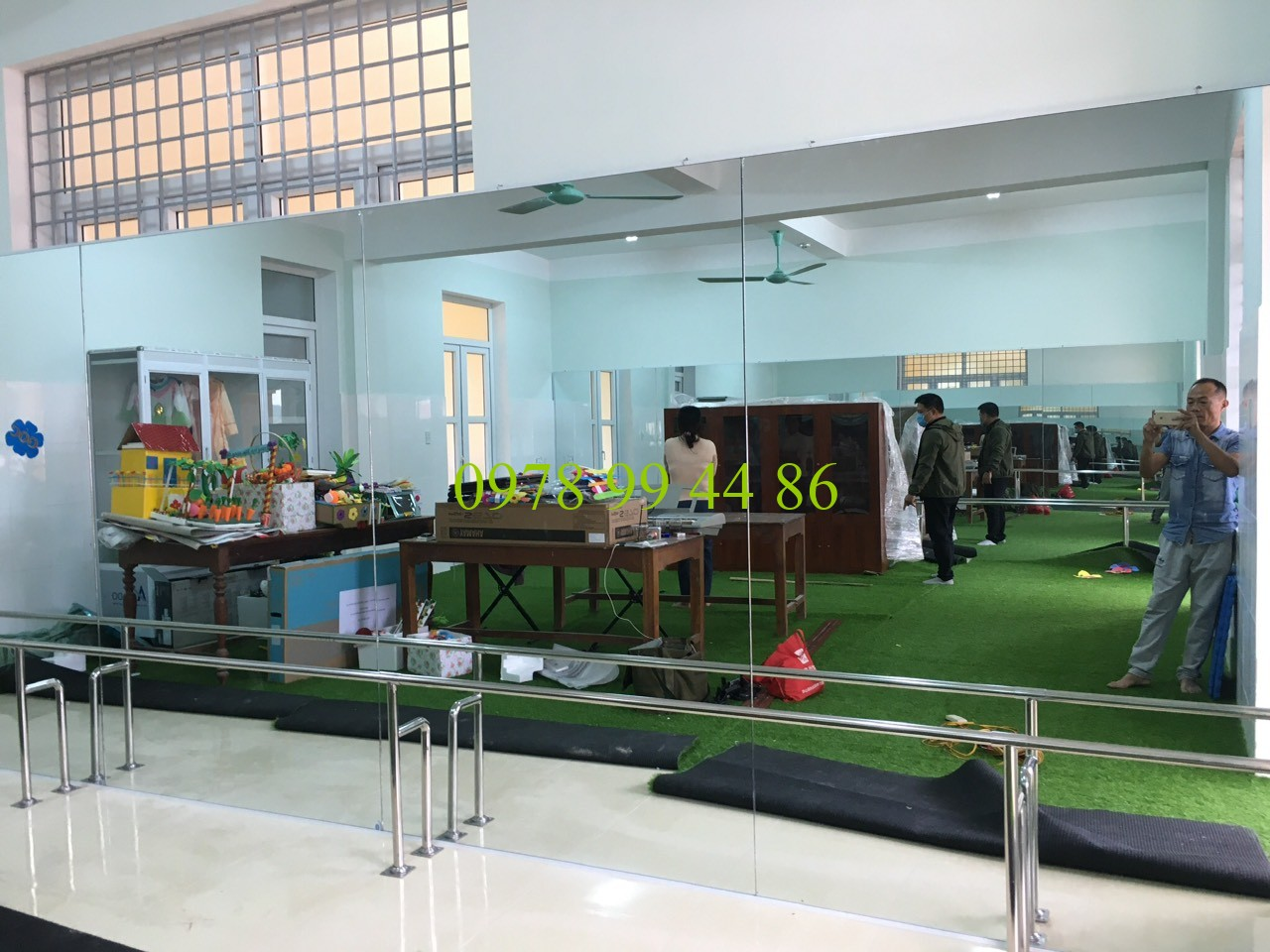 Gương phòng tập 345522 Chuyên gương phòng tập gym,yoga,zumba,múa chính hãng