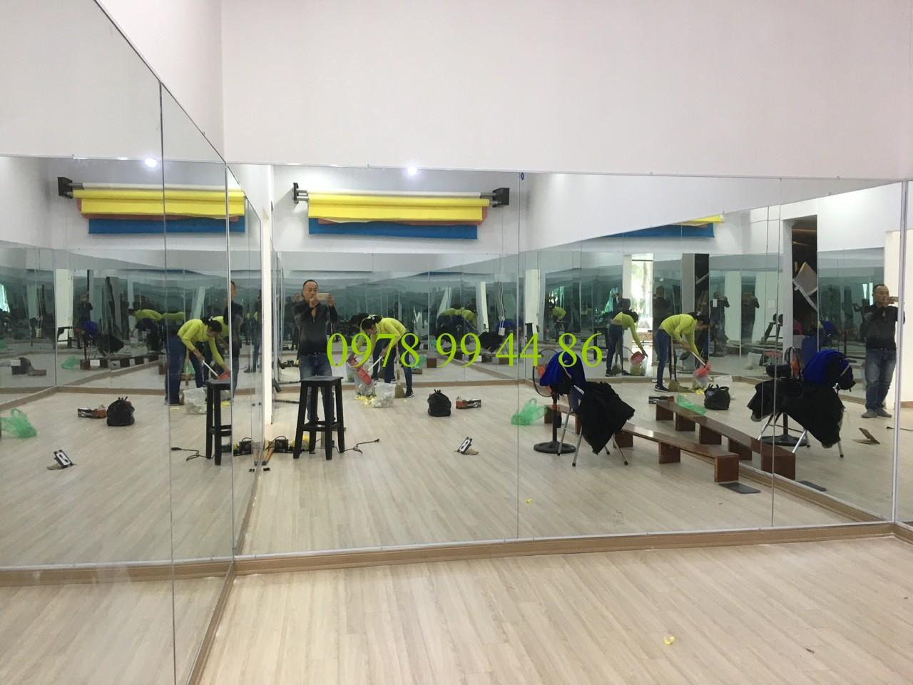 Gương phòng tập 28479 Chuyên gương phòng tập gym,yoga,zumba,múa chính hãng
